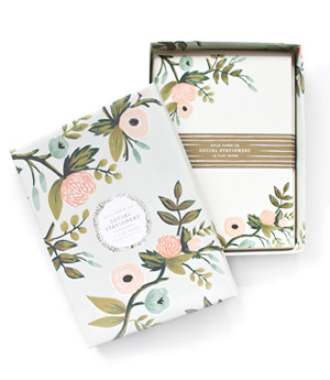 Botanical Paper Products From Rifle Paper Co Plant