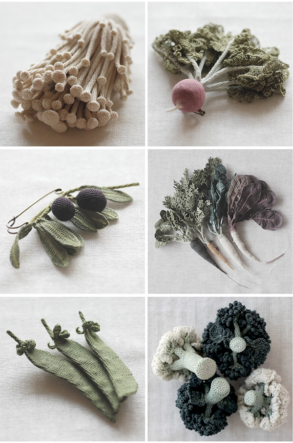 Knit plants by Jung Jung