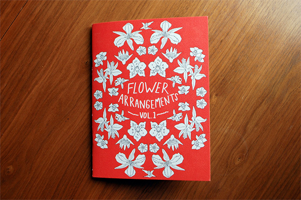 Flower Arrangements Vol 1, a zine by Ted Feighan.