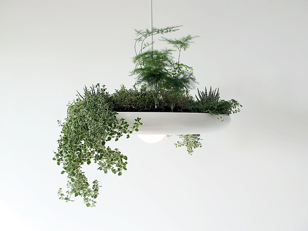 Plantable Babylon Lamp by Ryan Taylor
