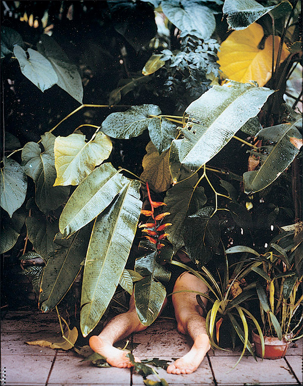 Naomi Fisher erotic plant photograph