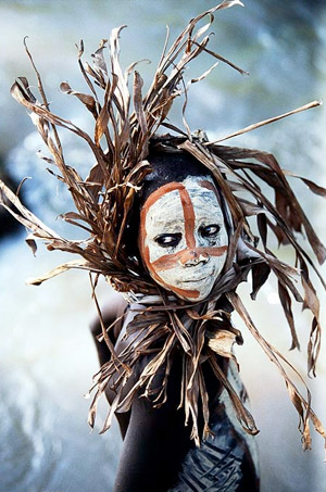 Hans Silvester Natural Fashion traditional tribal wear photography