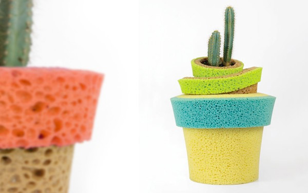 InVaso self-watering sponge pot