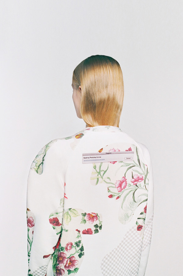 Botanical Layers sweatshirts by Masha Reva x SNDCT