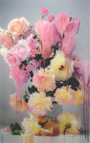 Flora by Nick Knight flower paintings