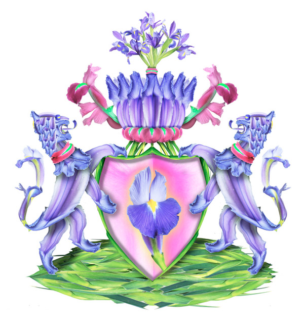 Botanical coat of arms by Michel Tcherevkoff