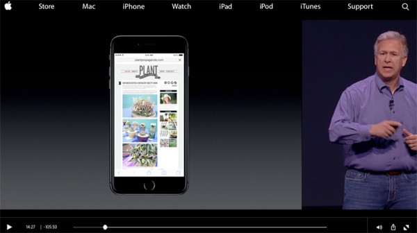 New iPhone 6 Safari display featuring Plant Propaganda!