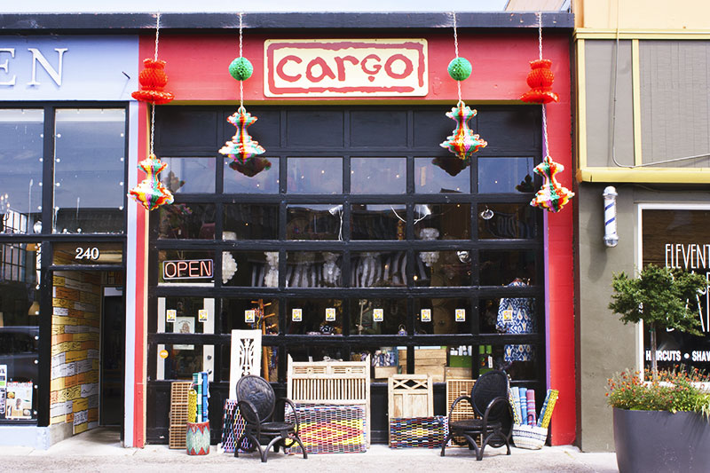 Shopping at Cargo in Astoria, Oregon